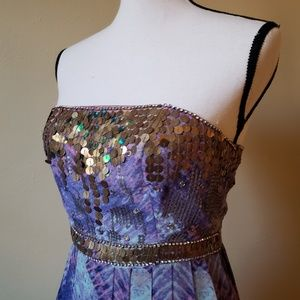 Urban Outfitters Dresses - Ecote Treasure Trove 2/4 Strapless Maxi Dress